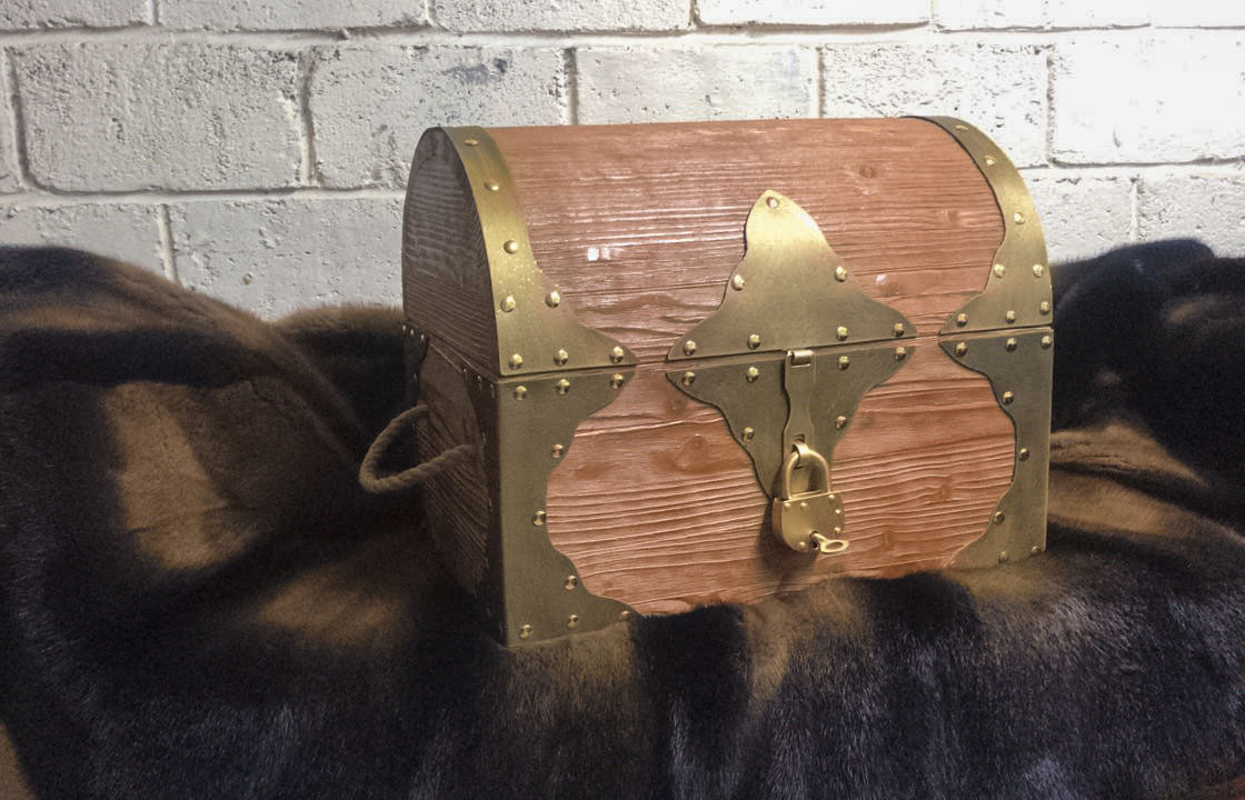 5 USSR rubles Prop Money Pirate Chest