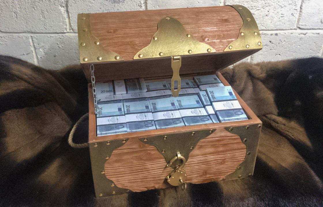 20 euro Prop Money Pirate Chest