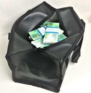 Sac d'argent 50 shekels israéliens (100 paquets)