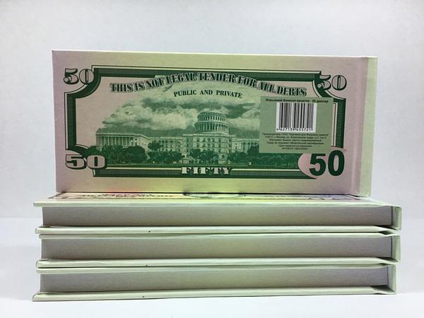 acheter Bloc-notes détachable de 50 dollars américains 1
