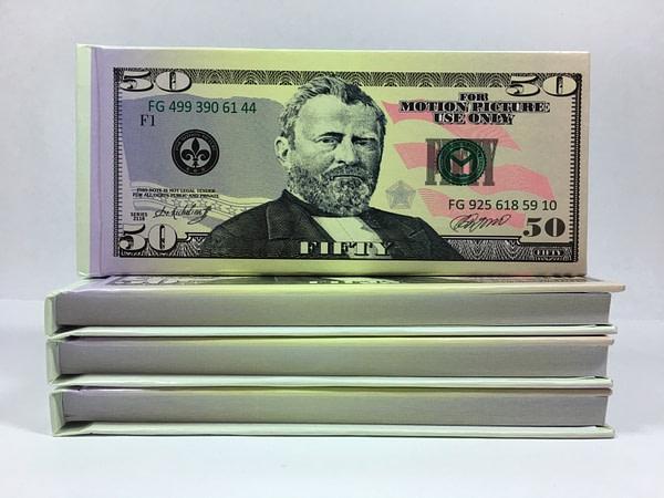 acheter Bloc-notes détachable de 50 dollars américains