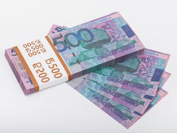 500 roubles biélorusses faux billets