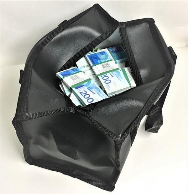 Sac d'argent 200 Shekel israéliens (100 paquets)