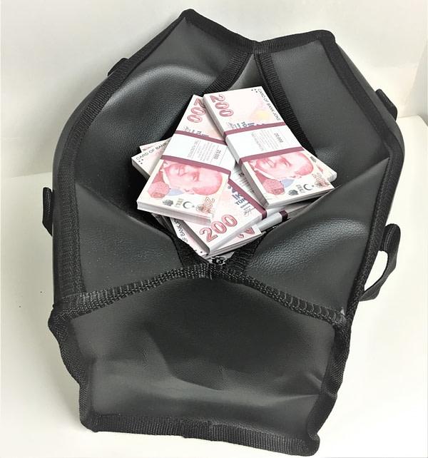 Sac d'argent 200 lires (100 paquets)