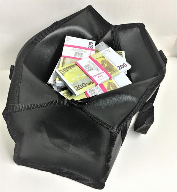 Sac d'argent 200 euros (100 paquets)