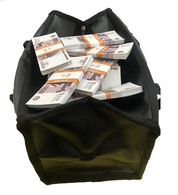 Sac d'argent 500 roubles russes (100 paquets)