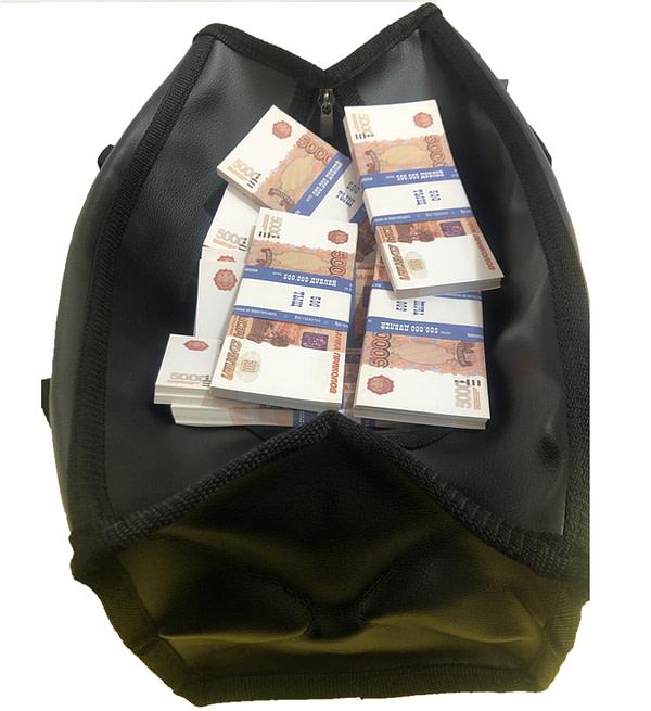 Sac d'argent 5000 roubles russes (100 paquets)