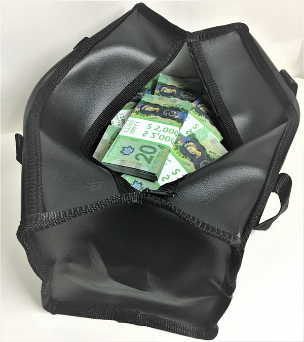 Sac d'argent 20 dollars canadiens (50 paquets)
