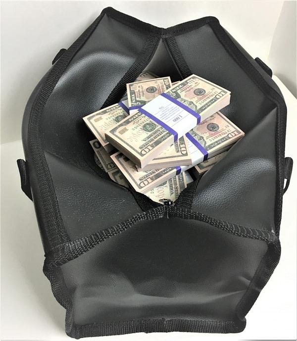 Sac d'argent 10 dollars américains (100 paquets)