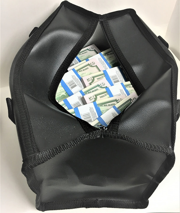 Sac d'argent 50 dollars américains (100 paquets)