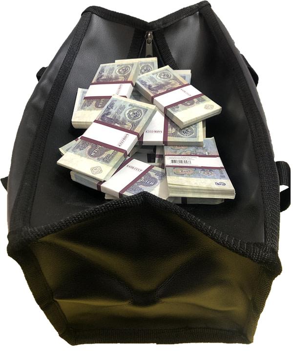Sac d'argent 1 rouble de l'URSS (100 paquets)
