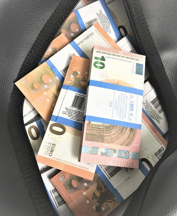 Sac d'argent 10 euros (50 paquets)