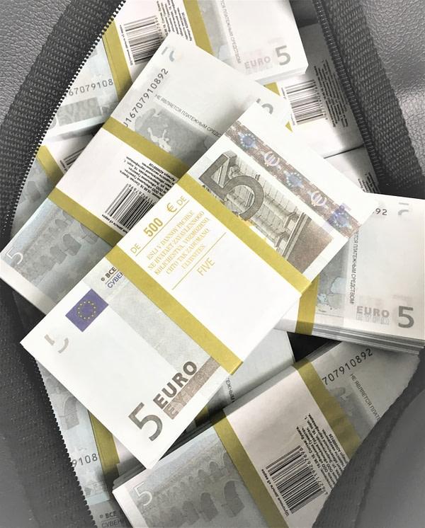Sac d'argent 5 euros (100 paquets)