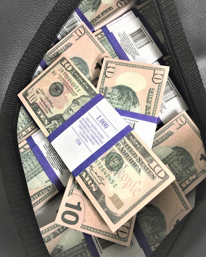 Sac d'argent 10 dollars américains (50 paquets)