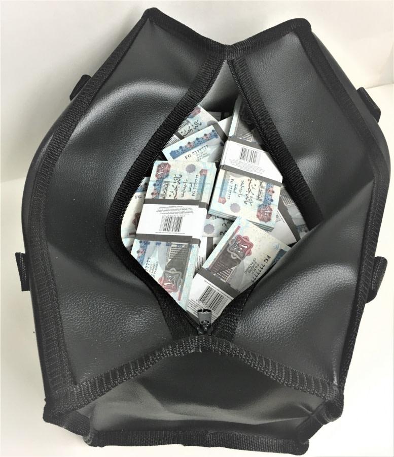 Sac d'argent 100 livres égyptiennes (100 paquets)