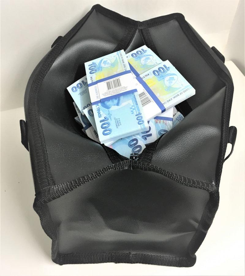 Sac d'argent 100 lires (100 paquets)