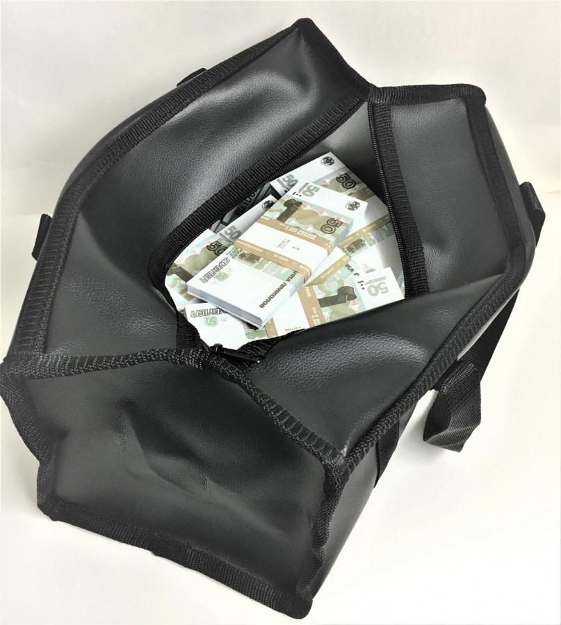 Sac d'argent 50 roubles russes (50 paquets)