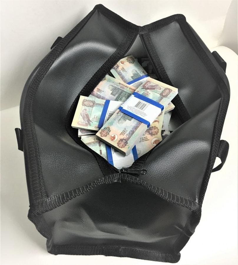 Sac d'argent 1000 dirhams des Émirats arabes unis (100 paquets)