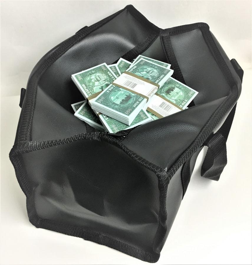 Sac d'argent 100 pétrodollars (50 paquets)