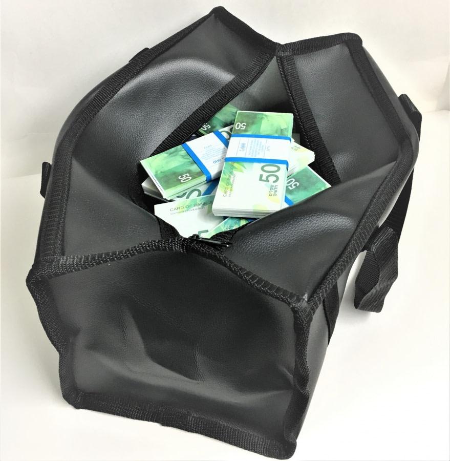 Sac d'argent 50 shekels israéliens (50 paquets)