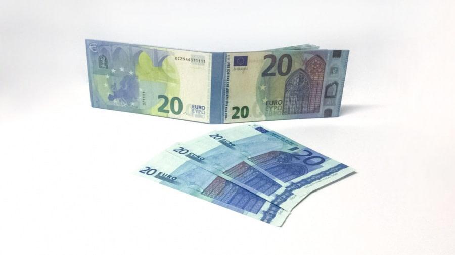 acheter 20 Euro Bloc-notes détachable 3