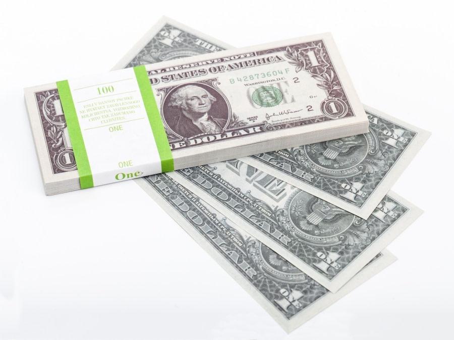 1 dollar américain faux billets