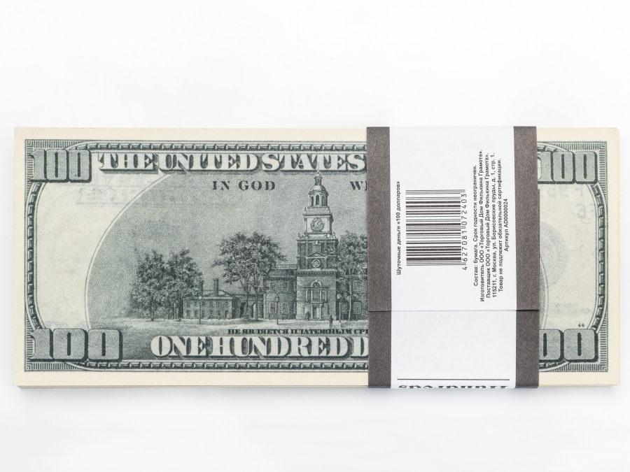 100 dollar américain faux billets
