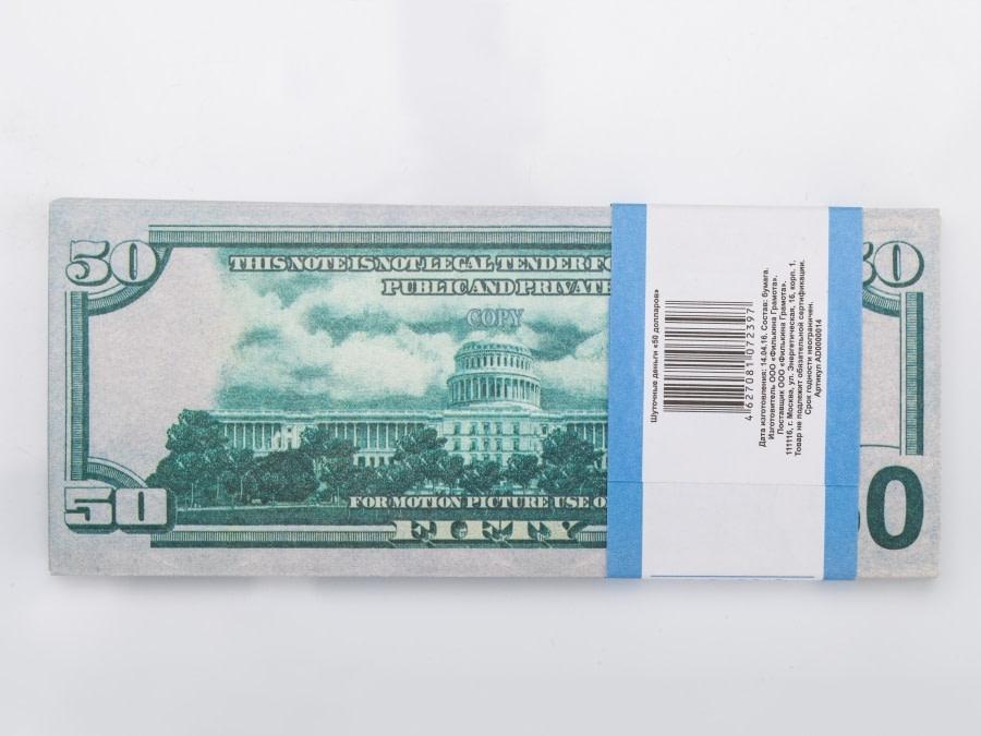 50 dollar américain faux billets