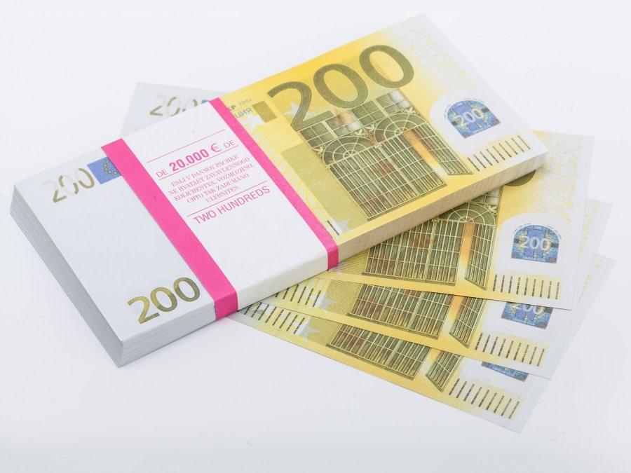 200 euros faux billets