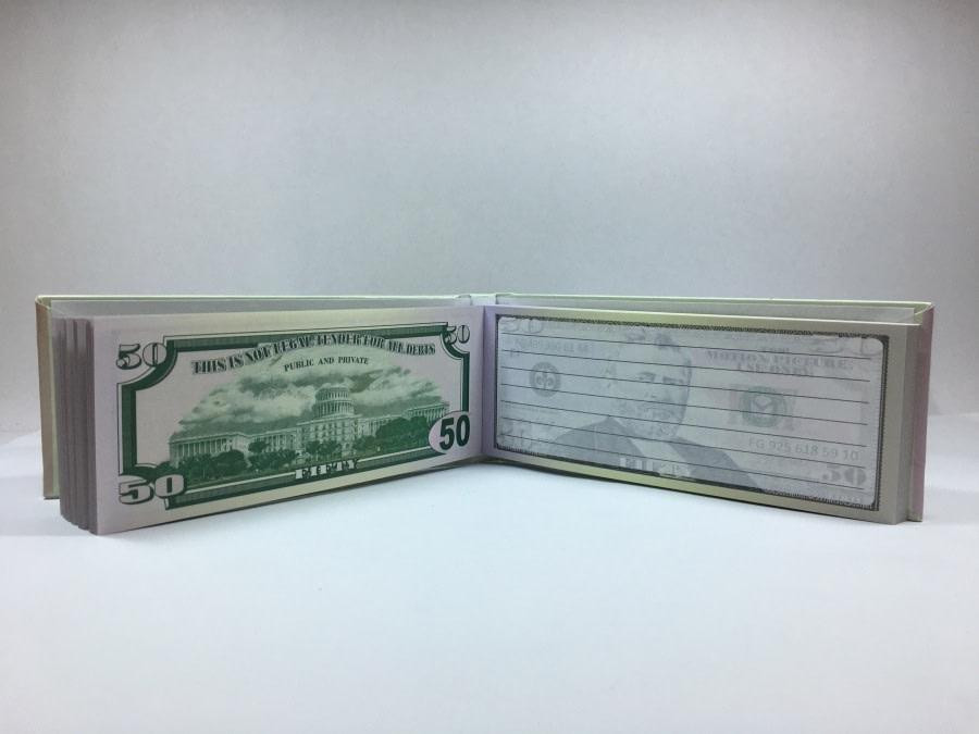 acheter Bloc-notes détachable de 50 dollars américains 2