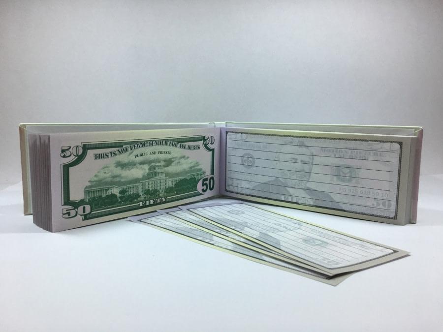 acheter Bloc-notes détachable de 50 dollars américains 3