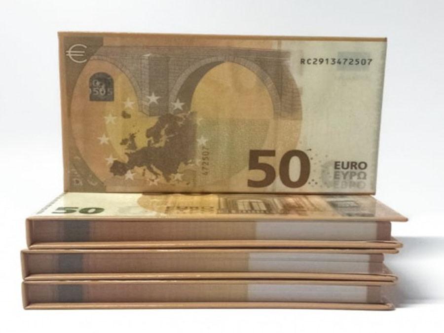 acheter 50 Euro Bloc-notes détachable